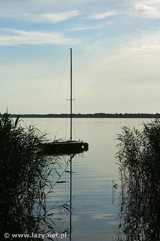 Łazy jezioro Jamno
